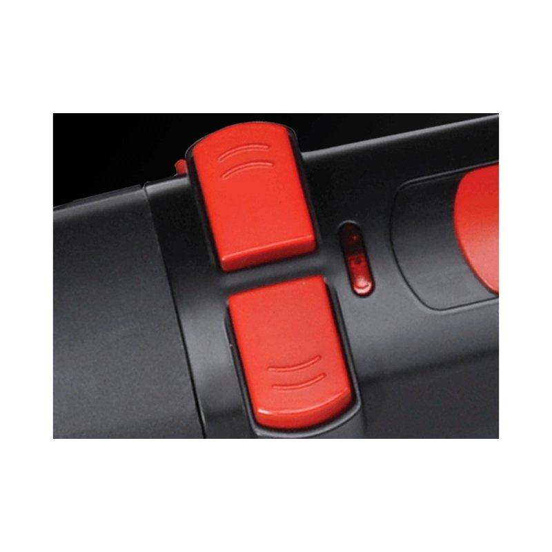 Escova Modeladora Gama Italy Turbo ION 3000 Rotating Styler 220V Preta e Vermelha