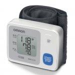 Monitor de Pressão Arterial de Pulso Omron Automático HEM-6122 Branco e Azul