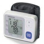 Monitor de Pressão Arterial de Pulso Omron Automático HEM-6131 Branco e Azul