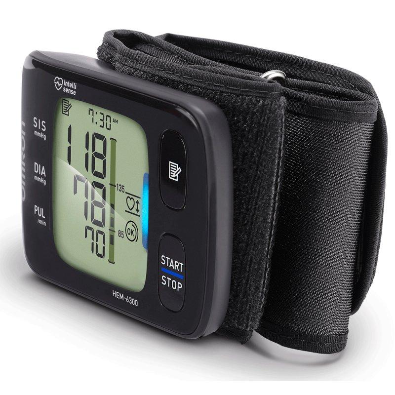 Monitor de Pressão Arterial de Pulso Omron HEM-6300 Elite Plus Automático