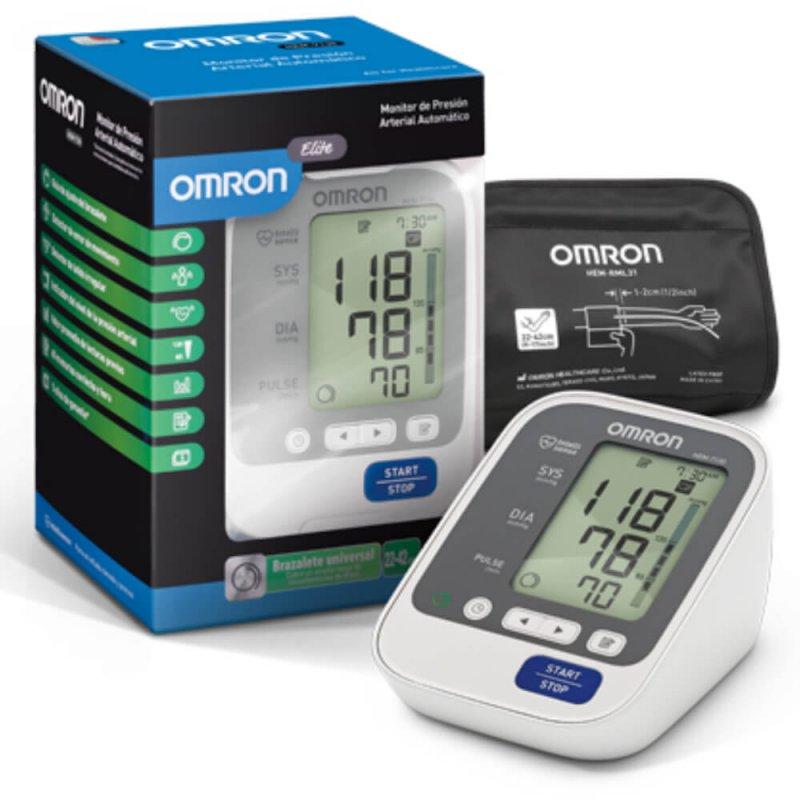 Monitor De Pressão Arterial Digital De Braço Omron Hem-7130 Automátic