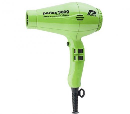 Secador Parlux 3800 / Verde / 2.100 W / Cabo 3 m / 4 Temperaturas / Ar Frio / 110V