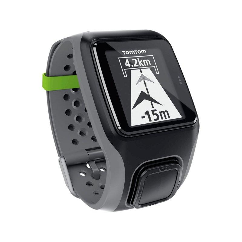 Relógio de Corrida TomTom Multi - Sport com GPS Suporte para Bike Cinza