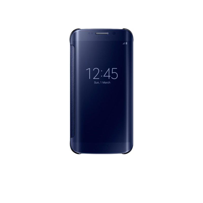 Capa Clear View Galaxy S6 Edge EF - ZG925 Preta