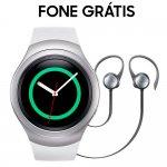 Smartwatch Samsung Gear S2 Sport SM-R720 Prata com Monitor Cardíaco