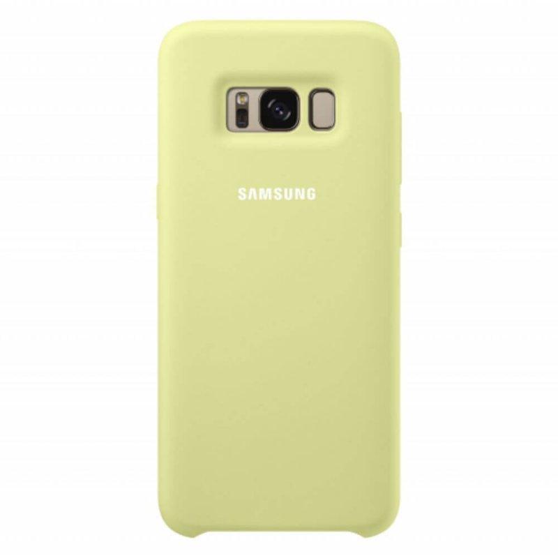 Capa Protetora de Silicone Verde para Galaxy S8