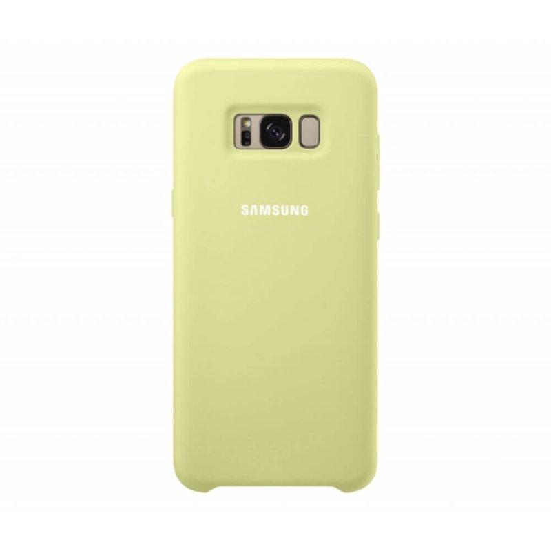 Capa protetora de Silicone Verde para Galaxy S8 Plus