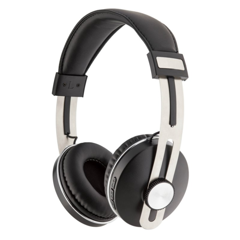 Headphone Geonav Aer04bk Over-ear Bluetooth Sem Fio Com Microfone Pre
