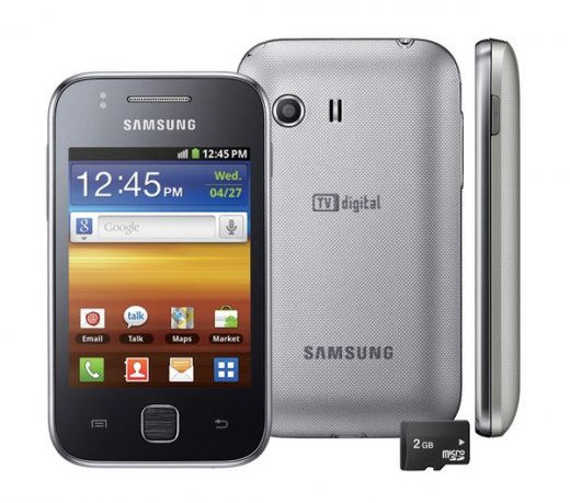Samsung Galaxy Y Young S5360 Celular Android Wifi Android  Apps