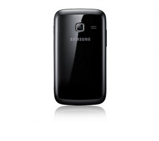 Smartphone Samsung Galaxy Y Duos / Dual Chip / Android 2.3 / 3.2MP / 832 MHz / 3G / Wi-Fi / Preto
