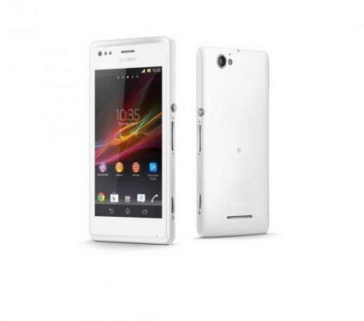 Smartphone Sony Xperia M C2004 / Dual Chip / Android 4.1 / Dual Core / 4 GB / Display 4