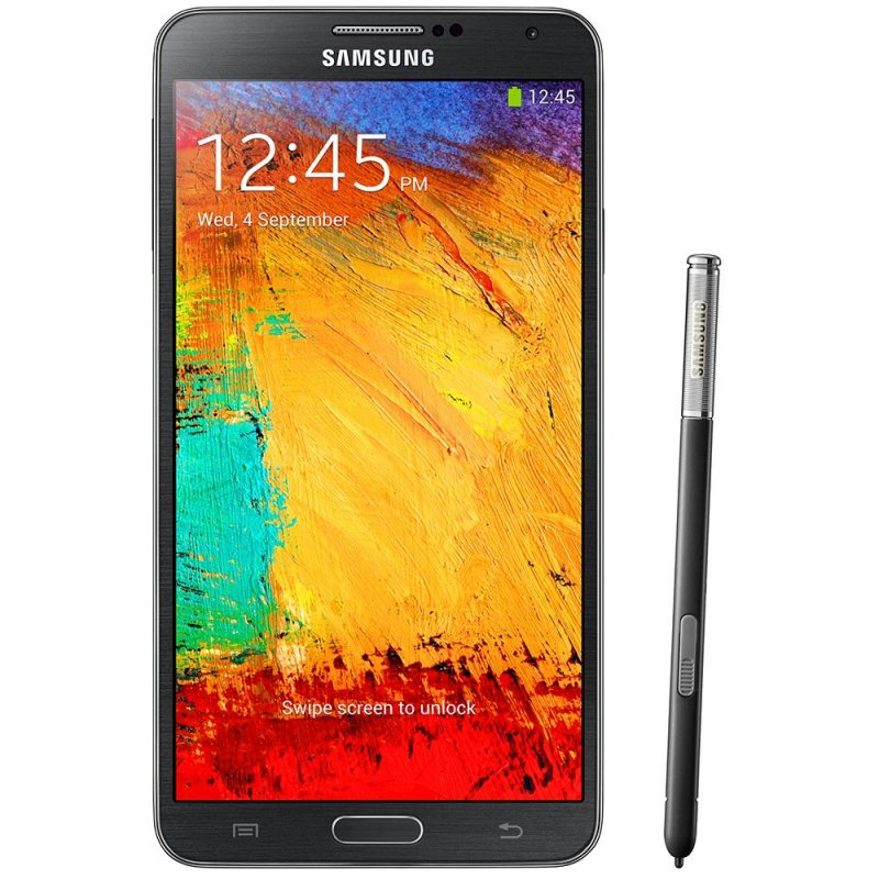 Smartphone Samsung Galaxy Note 3 5.7 ´ Android 4.3 4G 13MP Quad Core Preto / Desbloqueado