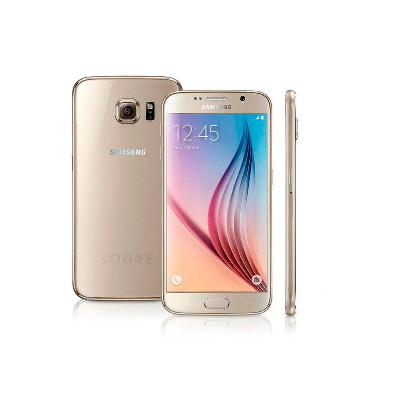 Smartphone Samsung Galaxy S6 32GB Android 5.0 Super Amoled 5,1 ´ 4G Wi Fi Câmera 16MP Dourado Sim Bi - Volt Sim 4G 4.1 16 MP Sim Dourado Sim Play Store Super Amoled 5,1 ´ Sim Não 12 Meses Sim Sim 32 GB Sim Sim Sim Sim Android 5.0 4G Ion de Lítio Não
