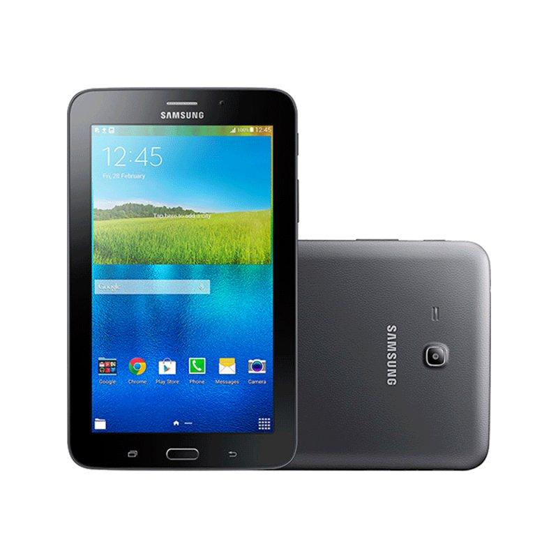 Galaxy Tab e 7.0 WiFi Android 4.4 Câmera 2MP Preto