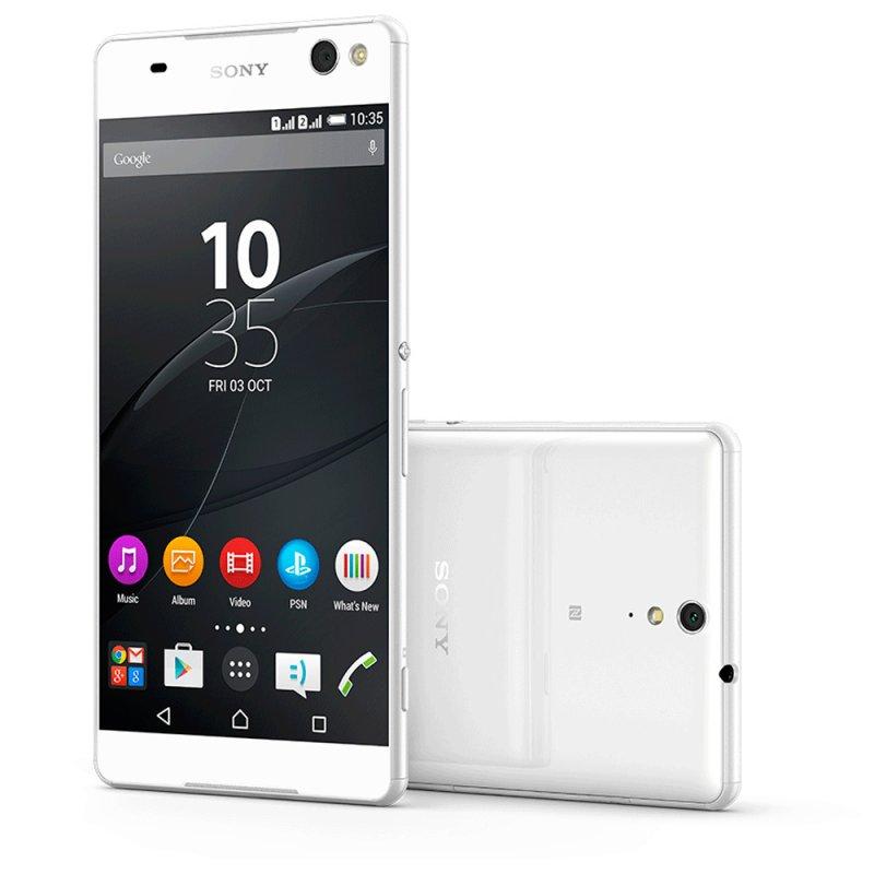 Smartphone Sony Xperia C5 Ultra Dual E5563 6 ´ Full HD Android 5.0 13MP Rádio FM Branco / Desbloqueado