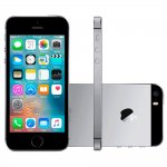 iPhone SE Apple 16GB Cinza Espacial iOS 9 4G Touch Chip A9 e Câmera de 12MP