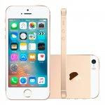 IPhone SE Apple 16GB Dourado IOS 9 4G Touch Chip A9 e Câmera de 12MP