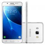 Smartphone Samsung Galaxy J7 Metal Branco 16GB Dual Chip 4G Android 6.0 e Câmera de 13MP