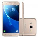 Smartphone Samsung Galaxy J5 Dourado Metal 5,2´´ Duos 16GB 13MP