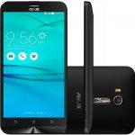Smartphone Asus Zenfone Go Live Preto 16GB TV Digita 4G Tela de 5,5