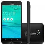 Smartphone Asus Zenfone GO LTE Preto 16GB Dual Chip Quad Core Tela 5,0