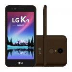 Smartphone LG Novo K4 X230 Marrom com 8GB, Dual Chip, Tela de 5.0