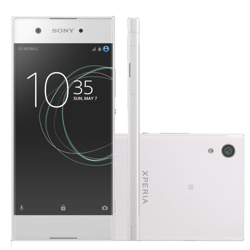 Smartphone Sony Xperia XA1 Branco 5 ´ Câmera de 23MP 32GB Octa Core e 3GB de RAM