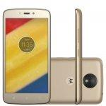 Smartphone Motorola Moto C Plus Ouro DualChip 8GB Tela 5