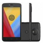 Smartphone Motorola Moto C Plus Preto DualChip 8GB Tela 5