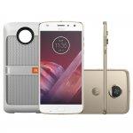 Smartphone Motorola Moto Z2 Play Ouro Sound Edition Sound Edition Dual Chip 64GB Tela 5,5