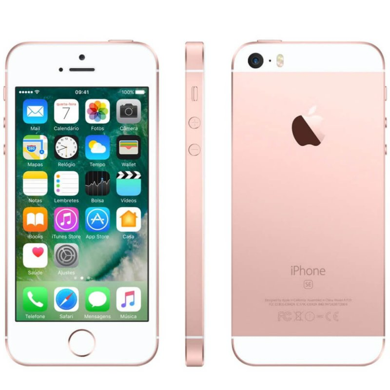 iPhone SE Apple Ouro Rosa 32GB Tela Retina de 4