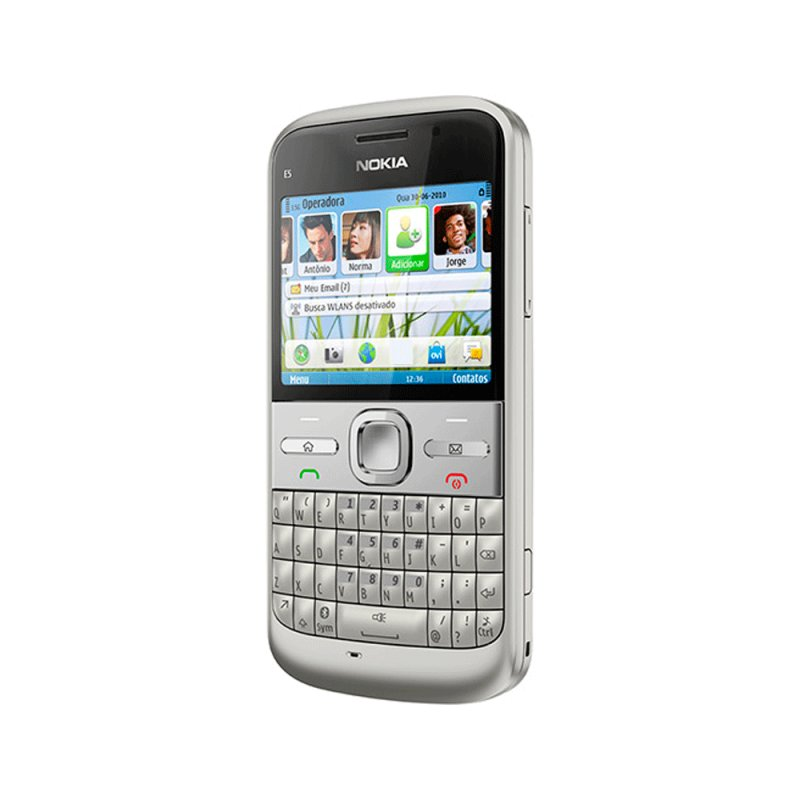 Celulares Nokia E5 Branco Prata Compre Online Girafa
