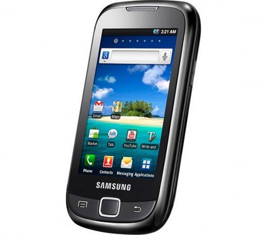 Smartphone Samsung Galaxy 551 / Android 2.2 / 3.2MP / 3G / Wi-Fi / MP3 / 2GB / GPS / Preto