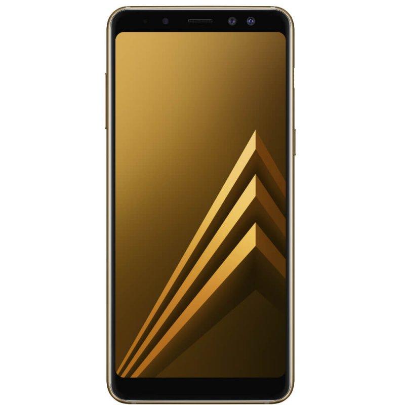 Smartphone Samsung Galaxy A8 Dourado Dual Chip 64gb Tela De 5,6 Câmer
