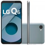 Smartphone LG Q6 LGM700TV Platinum Dual Chip, Tela FullVision 5.5, 32GB e 13MP