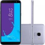 Smartphone Samsung Galaxy J6 Prata TV Digital HD 32GB Tela de 5,6