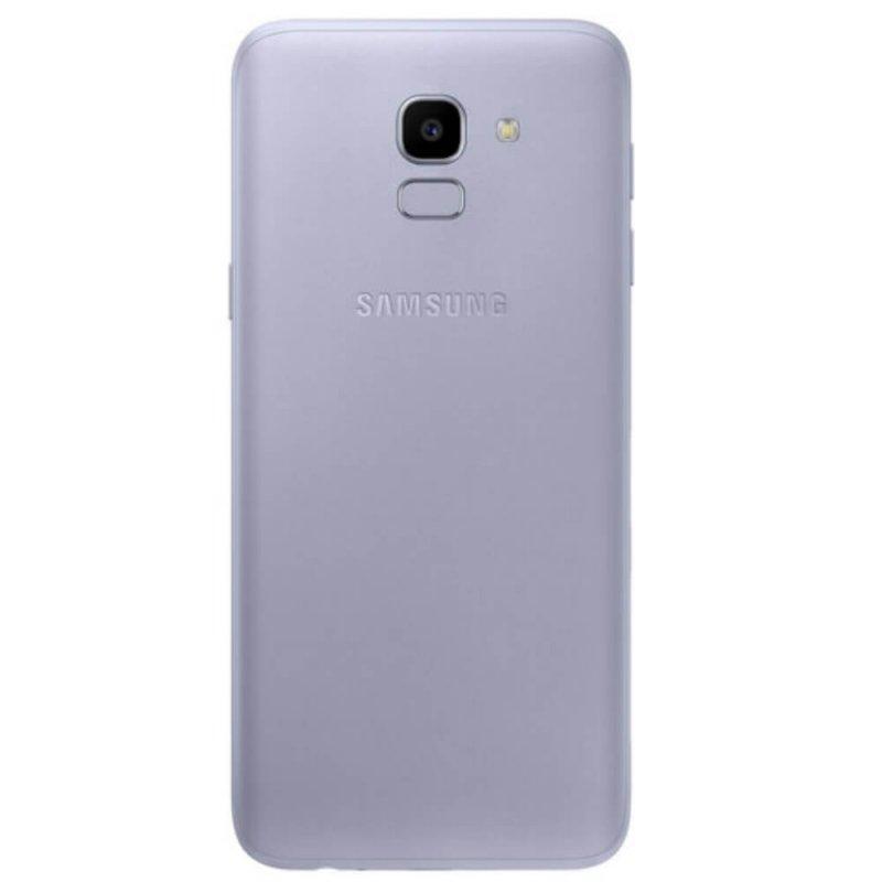 Smartphone Samsung Galaxy J6 Prata 64GB TV Digital Tela de 5,6