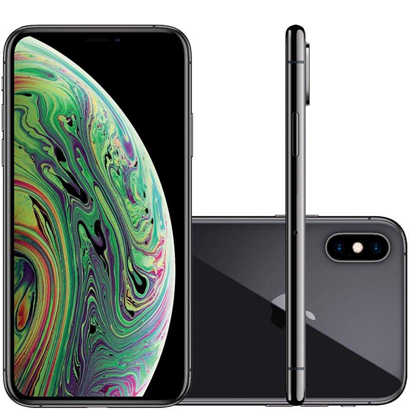 Iphone Xs Apple Cinza Espacial 64gb Tela Super Retina Hd 5.8