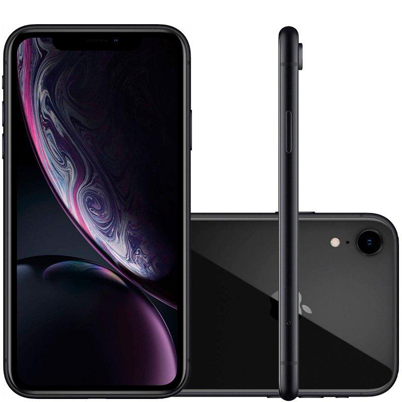 Iphone Xr Apple Preto 64gb Tela Liquid Retina 6.1