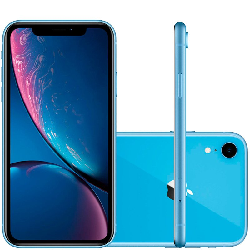 Iphone Xr Apple Azul 128gb Tela Liquid Retina 6.1