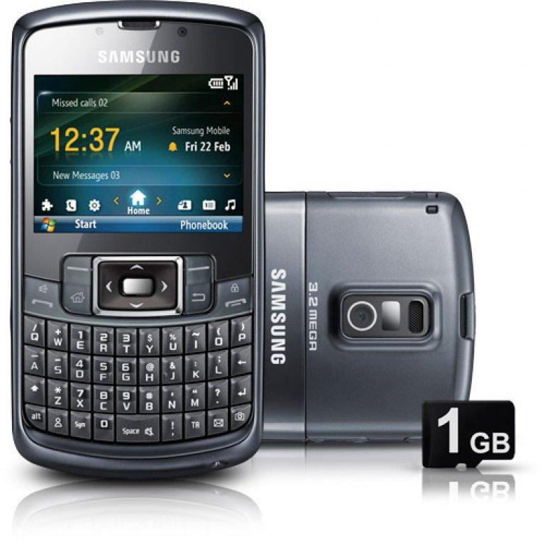 GT-B7320, Celulares, Celular Samsung Omnia Pro / Câmera 3.2Mp / 3G / Wi-Fi / GPS / Windows Mobile 6.5
