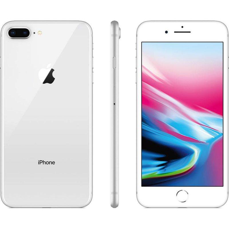 Iphone 8 Plus Apple 256gb Prata Tela Retina Hd 5,5