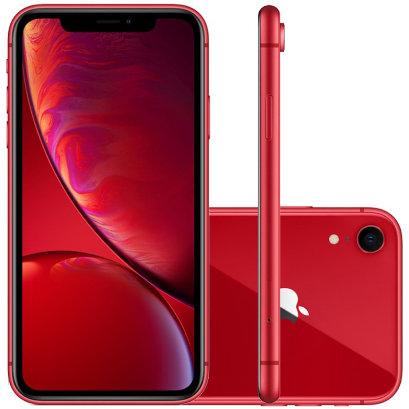 Iphone Xr Apple Vermelho 64gb Tela Liquid Retina 6.1