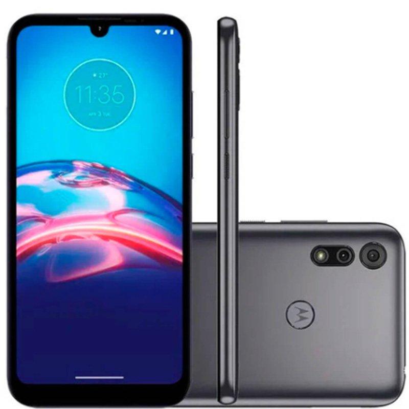 Smartphone Moto E6i Motorola Xt2053-5 Moto E6i 32gb Cinza Titanium
