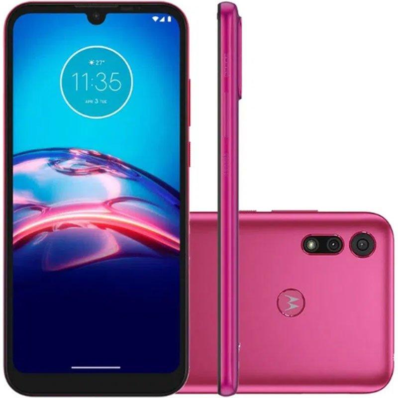 Smartphone Moto E6i Motorola Xt2053-5 Moto E6i 32gb Rosa
