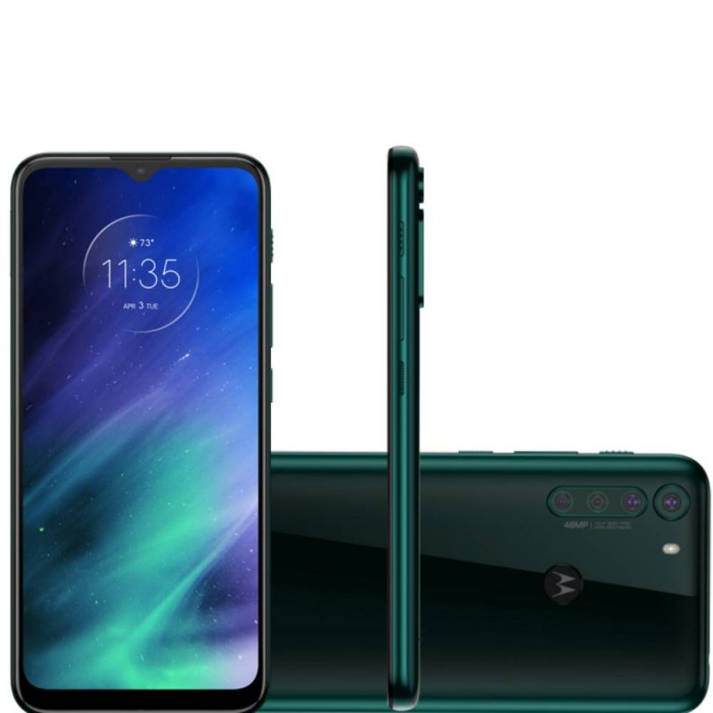 "Smartphone Motorola 6,5"" Xt2073-2 Moto One Fusion Dual Chip 4gb Ram 1"