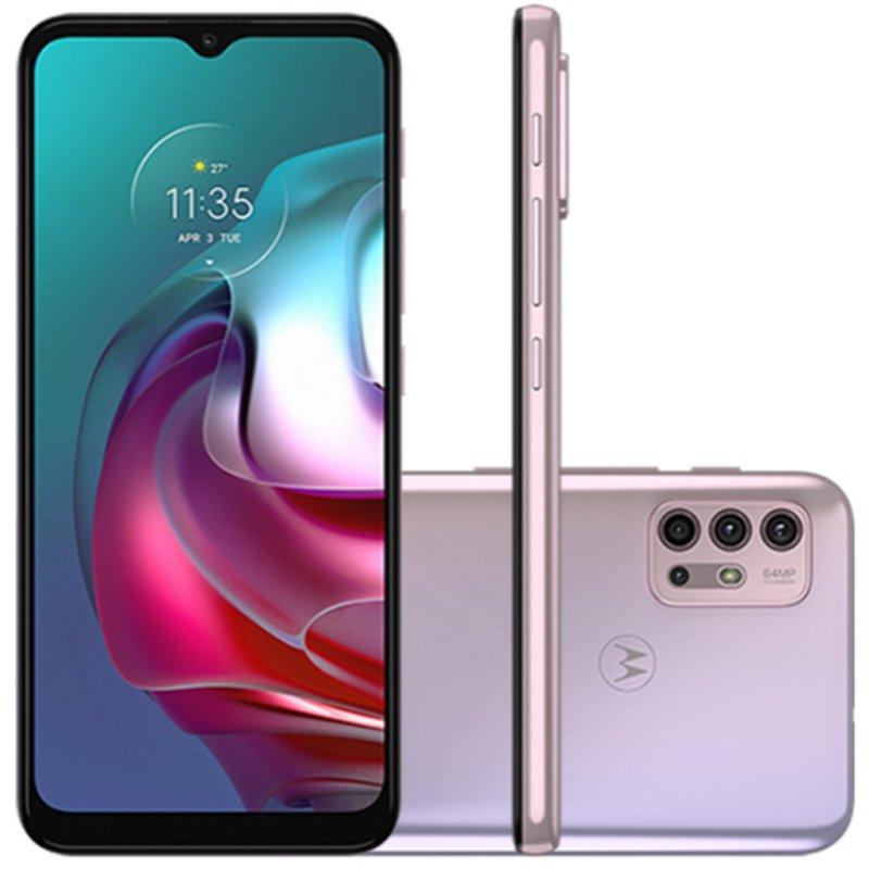 Smartphone Motorola Moto G30 128gb Tela De 6,5