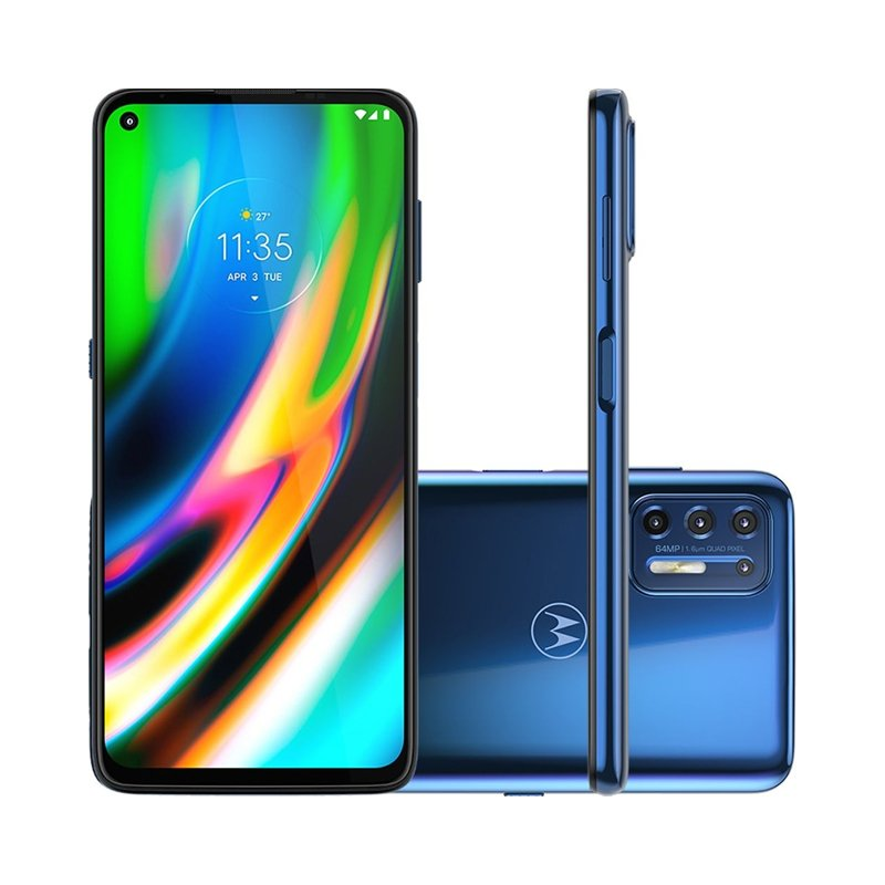 Smartphone Motorola Moto G9 Plus 6,8