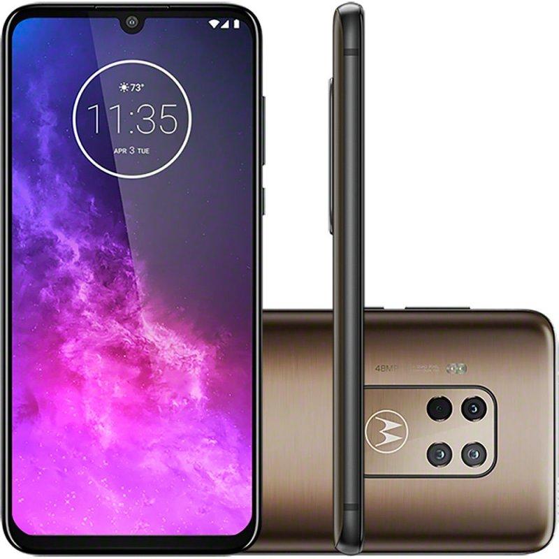 Smartphone Motorola One Zoom 128gb Tela Oled 6,4