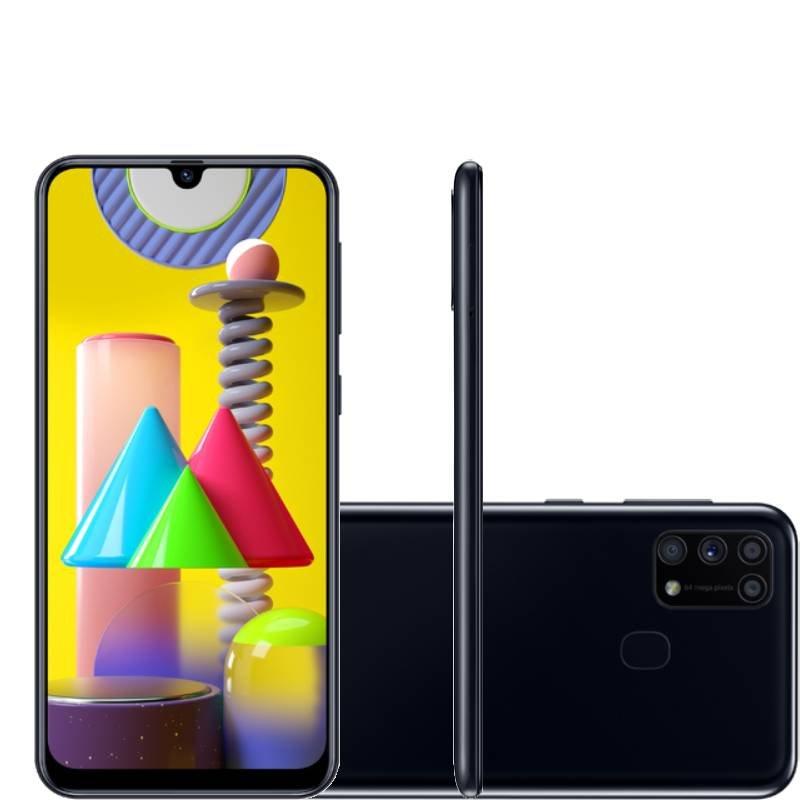Smartphone Samsung Galaxy M31 Tela Infinita De 6.4
